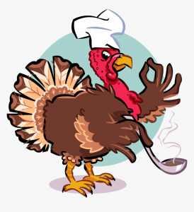 Turkey Chef with Ladle